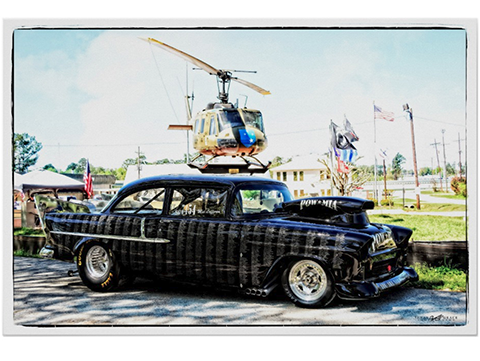 1955 Chevy POW/MIA Poster by Texas Grace Photography